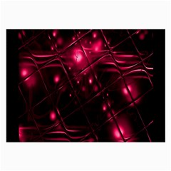 Picture Of Love In Magenta Declaration Of Love Large Glasses Cloth