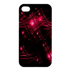 Picture Of Love In Magenta Declaration Of Love Apple iPhone 4/4S Hardshell Case