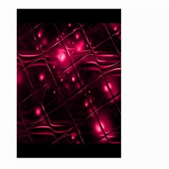 Picture Of Love In Magenta Declaration Of Love Large Garden Flag (Two Sides)
