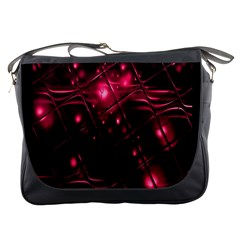 Picture Of Love In Magenta Declaration Of Love Messenger Bags