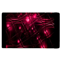 Picture Of Love In Magenta Declaration Of Love Apple iPad 3/4 Flip Case
