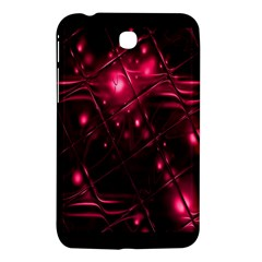 Picture Of Love In Magenta Declaration Of Love Samsung Galaxy Tab 3 (7 ) P3200 Hardshell Case