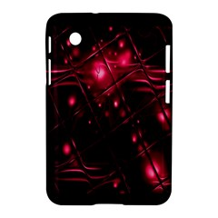 Picture Of Love In Magenta Declaration Of Love Samsung Galaxy Tab 2 (7 ) P3100 Hardshell Case