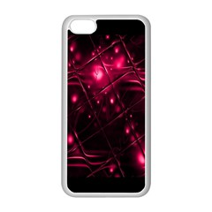 Picture Of Love In Magenta Declaration Of Love Apple iPhone 5C Seamless Case (White)
