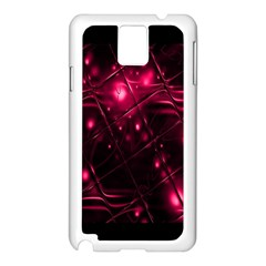 Picture Of Love In Magenta Declaration Of Love Samsung Galaxy Note 3 N9005 Case (White)