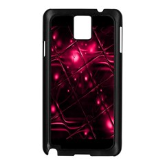 Picture Of Love In Magenta Declaration Of Love Samsung Galaxy Note 3 N9005 Case (Black)