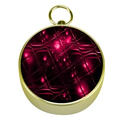 Picture Of Love In Magenta Declaration Of Love Gold Compasses