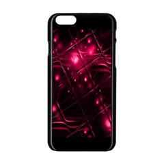 Picture Of Love In Magenta Declaration Of Love Apple iPhone 6/6S Black Enamel Case
