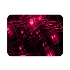 Picture Of Love In Magenta Declaration Of Love Double Sided Flano Blanket (mini)