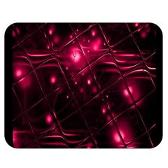 Picture Of Love In Magenta Declaration Of Love Double Sided Flano Blanket (medium)