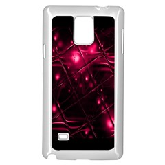 Picture Of Love In Magenta Declaration Of Love Samsung Galaxy Note 4 Case (White)
