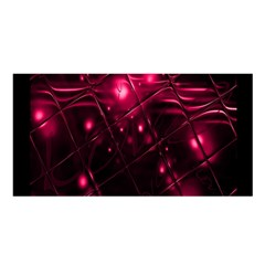 Picture Of Love In Magenta Declaration Of Love Satin Shawl