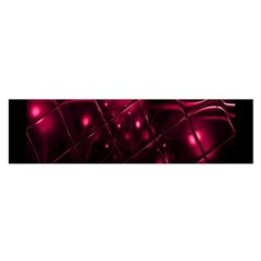 Picture Of Love In Magenta Declaration Of Love Satin Scarf (Oblong)