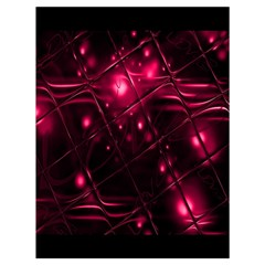 Picture Of Love In Magenta Declaration Of Love Drawstring Bag (Large)
