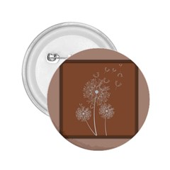 Dandelion Frame Card Template For Scrapbooking 2 25  Buttons