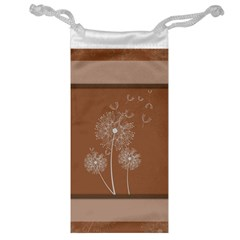 Dandelion Frame Card Template For Scrapbooking Jewelry Bag