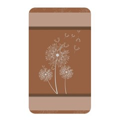 Dandelion Frame Card Template For Scrapbooking Memory Card Reader