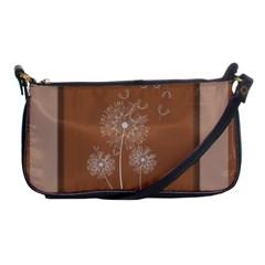 Dandelion Frame Card Template For Scrapbooking Shoulder Clutch Bags