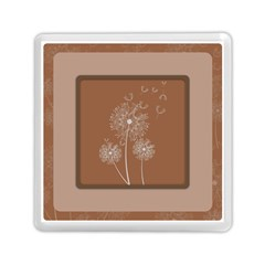 Dandelion Frame Card Template For Scrapbooking Memory Card Reader (square)
