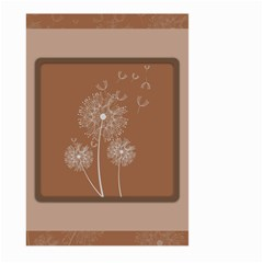 Dandelion Frame Card Template For Scrapbooking Large Garden Flag (Two Sides)