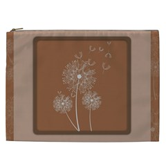 Dandelion Frame Card Template For Scrapbooking Cosmetic Bag (XXL)
