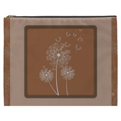 Dandelion Frame Card Template For Scrapbooking Cosmetic Bag (XXXL)