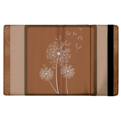 Dandelion Frame Card Template For Scrapbooking Apple iPad 2 Flip Case