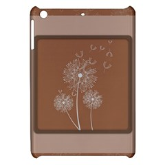 Dandelion Frame Card Template For Scrapbooking Apple iPad Mini Hardshell Case