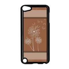 Dandelion Frame Card Template For Scrapbooking Apple iPod Touch 5 Case (Black)
