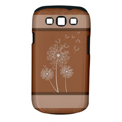 Dandelion Frame Card Template For Scrapbooking Samsung Galaxy S Iii Classic Hardshell Case (pc+silicone)