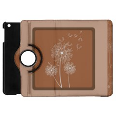 Dandelion Frame Card Template For Scrapbooking Apple Ipad Mini Flip 360 Case