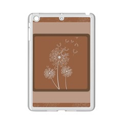 Dandelion Frame Card Template For Scrapbooking iPad Mini 2 Enamel Coated Cases
