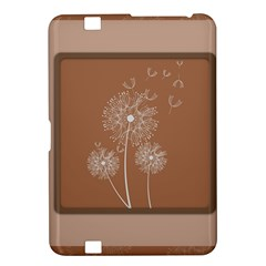 Dandelion Frame Card Template For Scrapbooking Kindle Fire HD 8.9