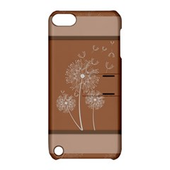 Dandelion Frame Card Template For Scrapbooking Apple iPod Touch 5 Hardshell Case with Stand