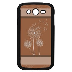 Dandelion Frame Card Template For Scrapbooking Samsung Galaxy Grand DUOS I9082 Case (Black)