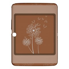 Dandelion Frame Card Template For Scrapbooking Samsung Galaxy Tab 3 (10.1 ) P5200 Hardshell Case