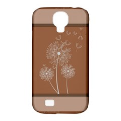 Dandelion Frame Card Template For Scrapbooking Samsung Galaxy S4 Classic Hardshell Case (PC+Silicone)