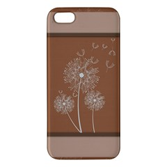 Dandelion Frame Card Template For Scrapbooking iPhone 5S/ SE Premium Hardshell Case