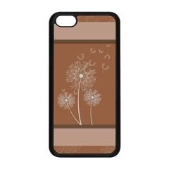 Dandelion Frame Card Template For Scrapbooking Apple iPhone 5C Seamless Case (Black)