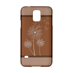 Dandelion Frame Card Template For Scrapbooking Samsung Galaxy S5 Hardshell Case