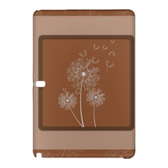 Dandelion Frame Card Template For Scrapbooking Samsung Galaxy Tab Pro 10.1 Hardshell Case