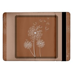 Dandelion Frame Card Template For Scrapbooking Samsung Galaxy Tab Pro 12.2  Flip Case