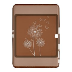 Dandelion Frame Card Template For Scrapbooking Samsung Galaxy Tab 4 (10.1 ) Hardshell Case