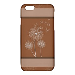 Dandelion Frame Card Template For Scrapbooking iPhone 6/6S TPU Case