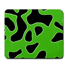 Black Green Abstract Shapes A Completely Seamless Tile Able Background Large Mousepads