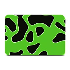 Black Green Abstract Shapes A Completely Seamless Tile Able Background Plate Mats