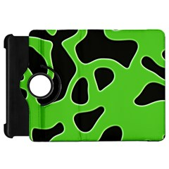 Black Green Abstract Shapes A Completely Seamless Tile Able Background Kindle Fire HD 7