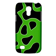 Black Green Abstract Shapes A Completely Seamless Tile Able Background Galaxy S4 Mini