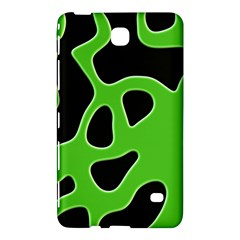 Black Green Abstract Shapes A Completely Seamless Tile Able Background Samsung Galaxy Tab 4 (8 ) Hardshell Case
