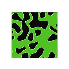 Black Green Abstract Shapes A Completely Seamless Tile Able Background Satin Bandana Scarf